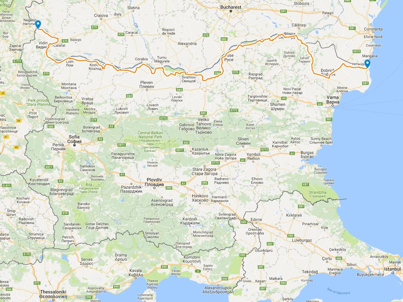 Дунав Ултра веломаршрут 2017 г.
