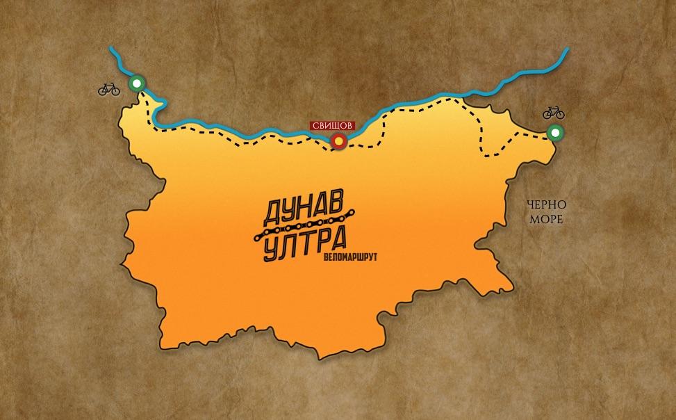 свищов карта веломапшрут