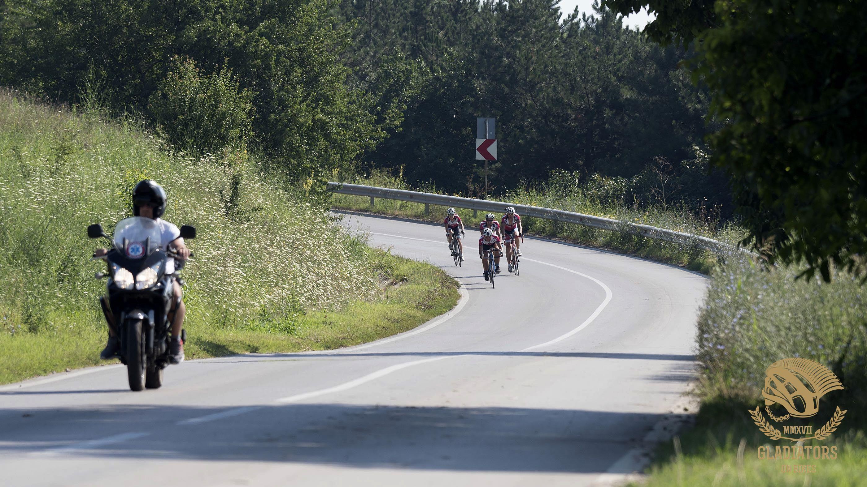 Dunav Ultra Gladiators On Bikes